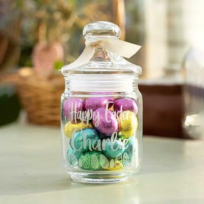 Personalised Chocolate Easter Jar