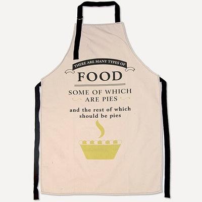 pies food apron