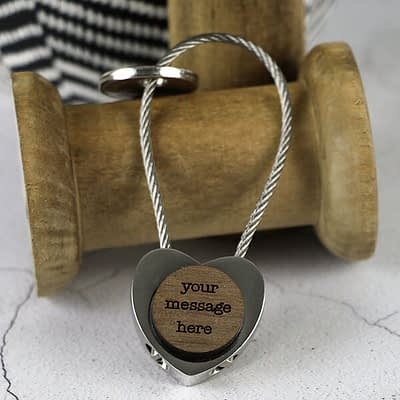 Small Personalised Key Ring