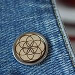 seed of life pin badge