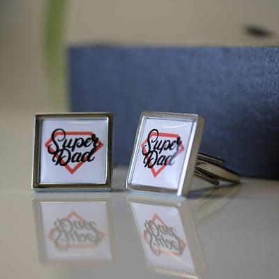 superdad cufflinks