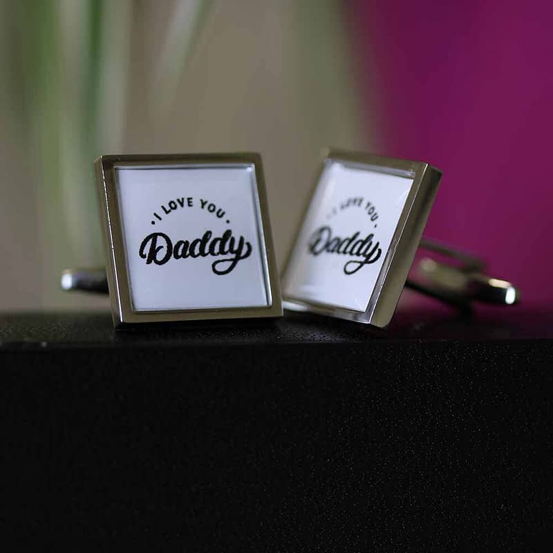 love daddy cufflinks