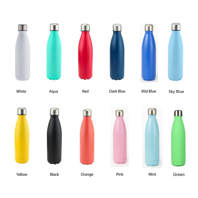 water bottle colours available