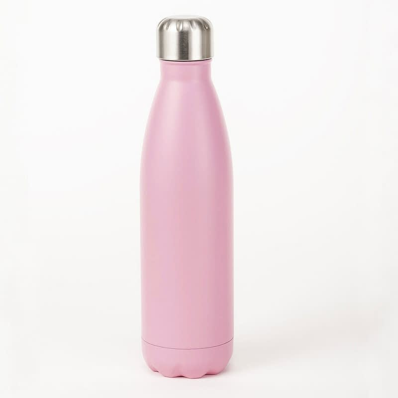 pink insulated bottle