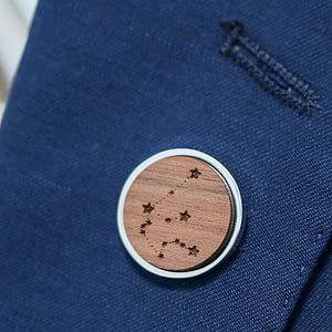 Celestial Constellation Lapel Pin Badge